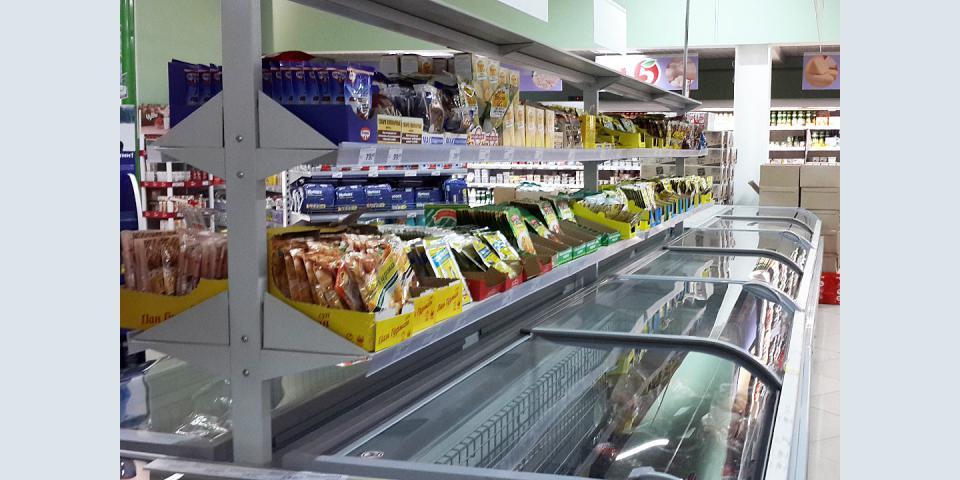 Полки для пищевой продукции.